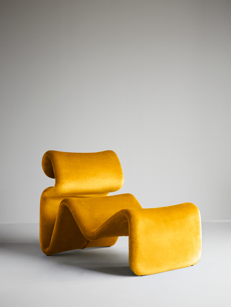 Etcetera Lounge Chair – Canary Yellow