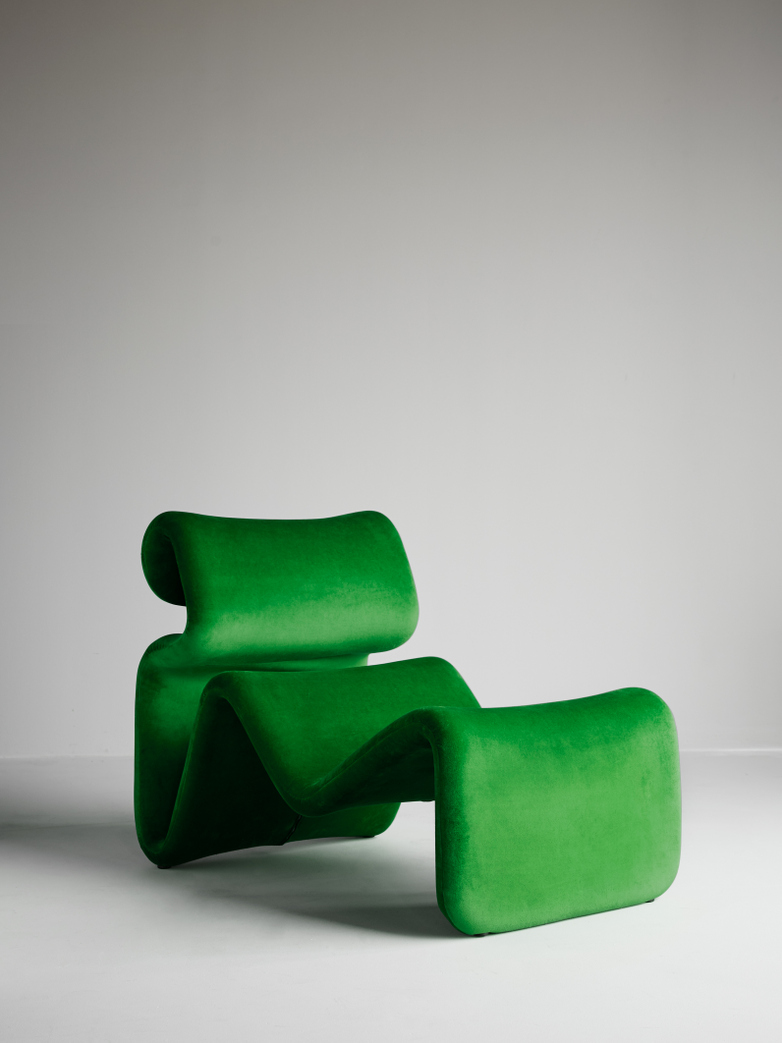 Etcetera Lounge Chair – Grass Green