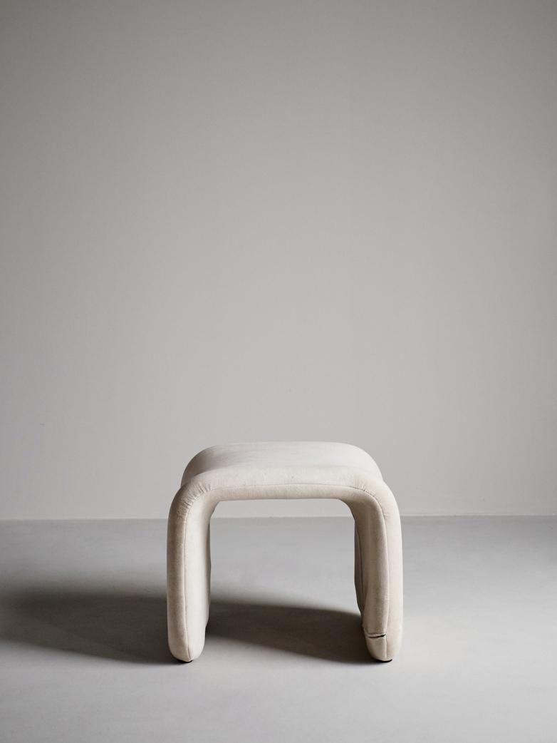 Etcetera Footstool – Sand Beige