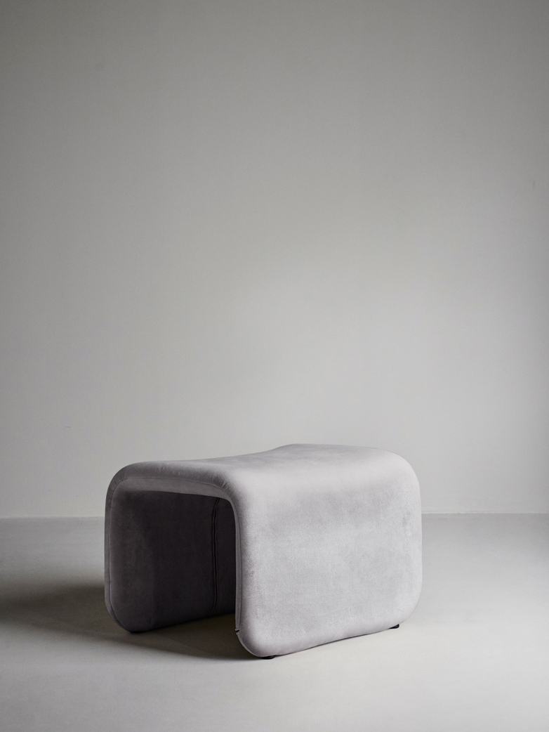 Etcetera Stool – Zink Grey