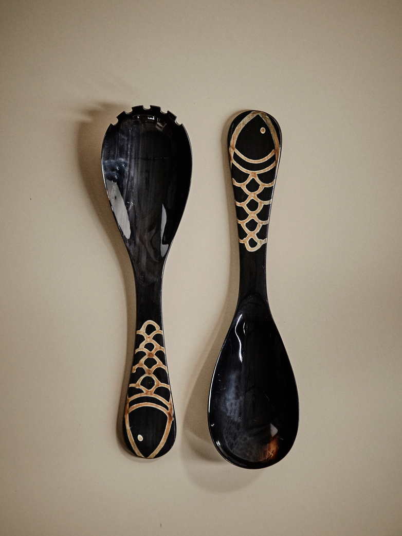 Bahe Horn Serving Set