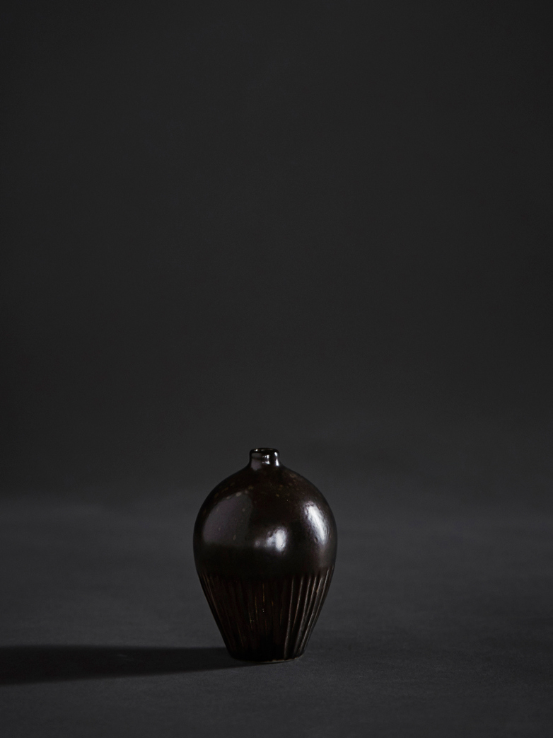 Ebba Brown Vase – Small