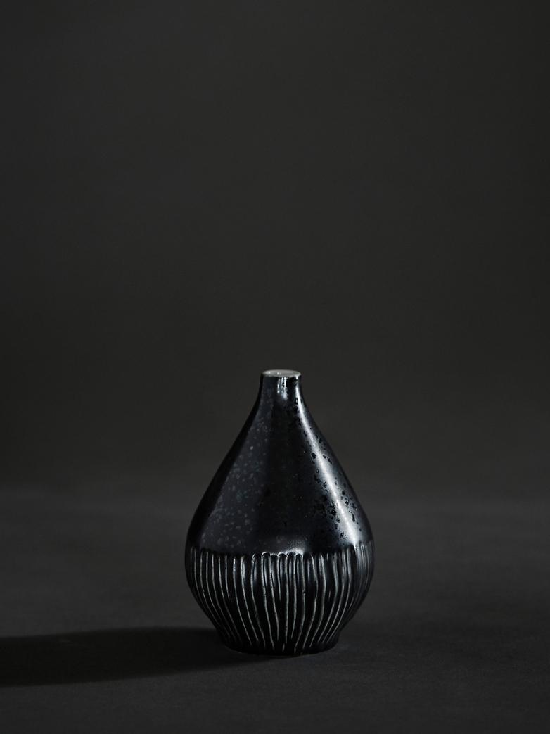 Kobe Black Freckles Vase