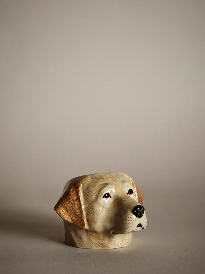Labrador Face Egg Cup
