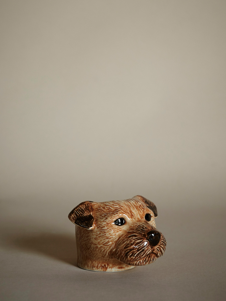 Terrier Face Egg Cup