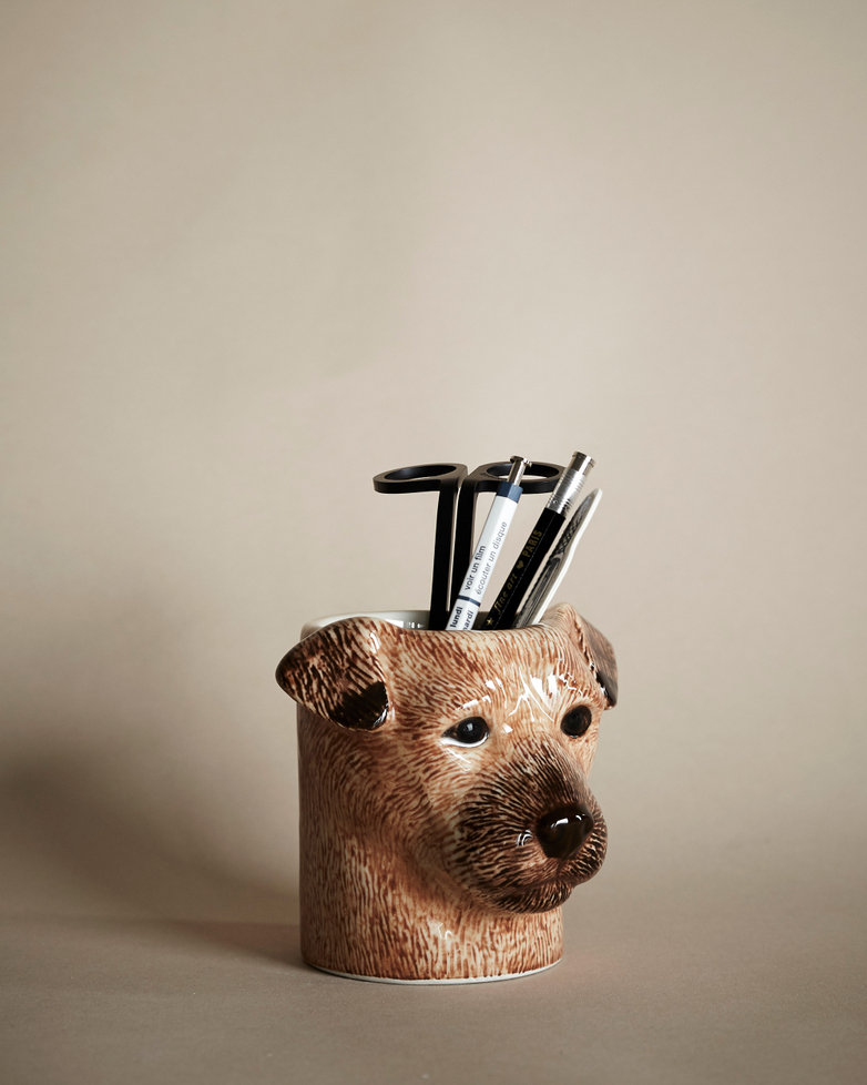 Terrier Pencil Pot