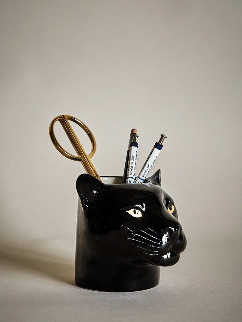 Panther Pencil Pot