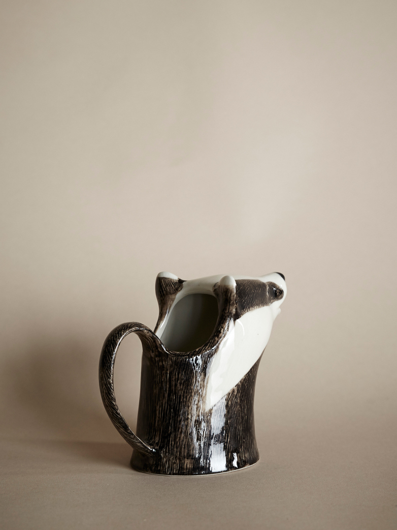 Badger Milk Pitcher