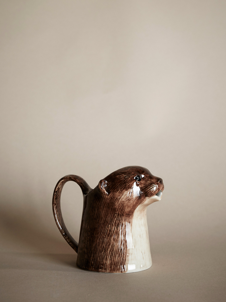 Otter Milk Pitcher