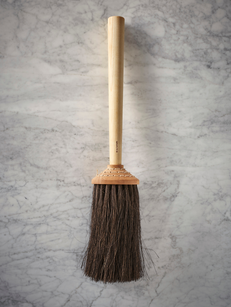 Porch Broom with Short Handle