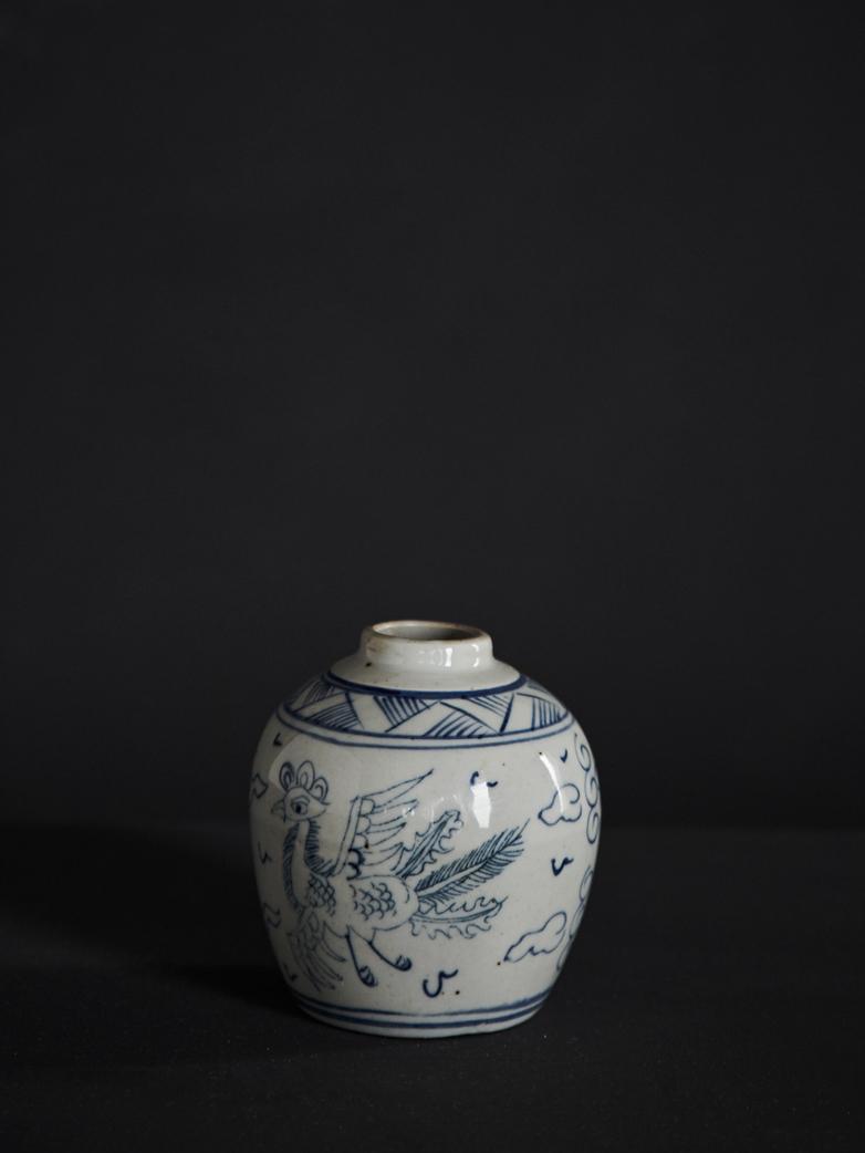 Oriental Bird Vase