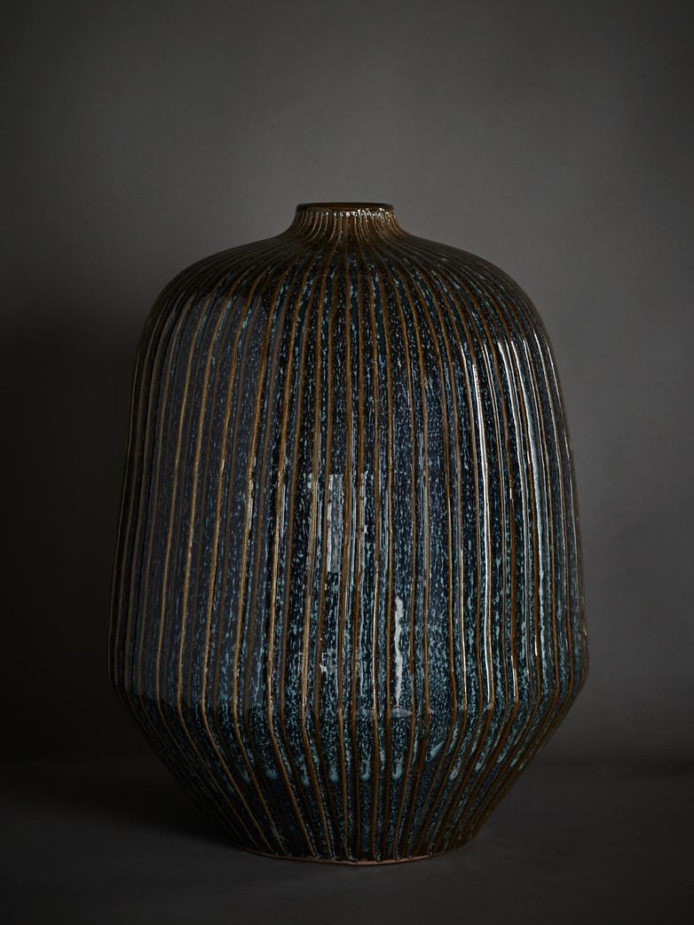 Art Deco Streak Vase