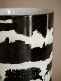 Golden Sunset Vase