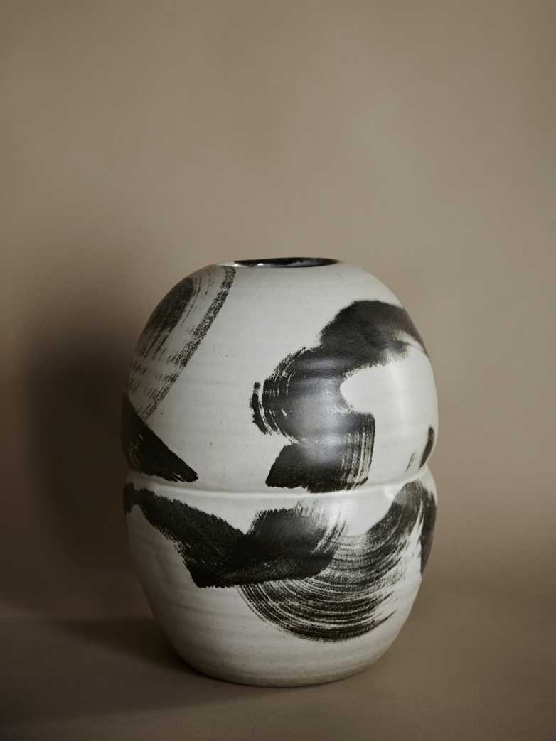 Artist Brush Stroke Vase