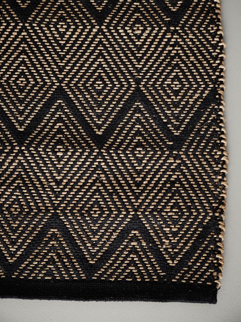 Seagrass Noir Rug – 400 x 300