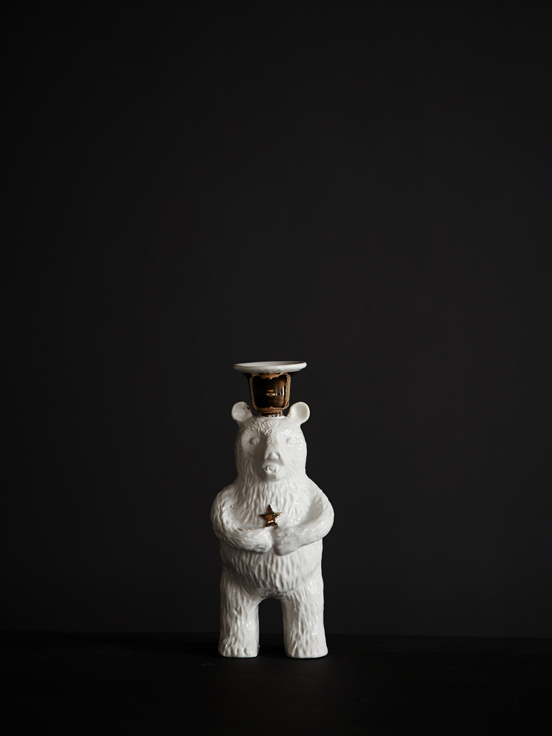 Bear Candle Holder