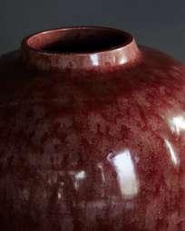 Trondheim Raspberry Vase