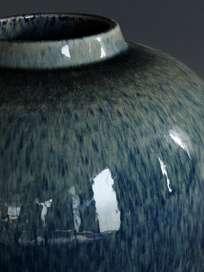 Aarhus Petrol Blue Vase