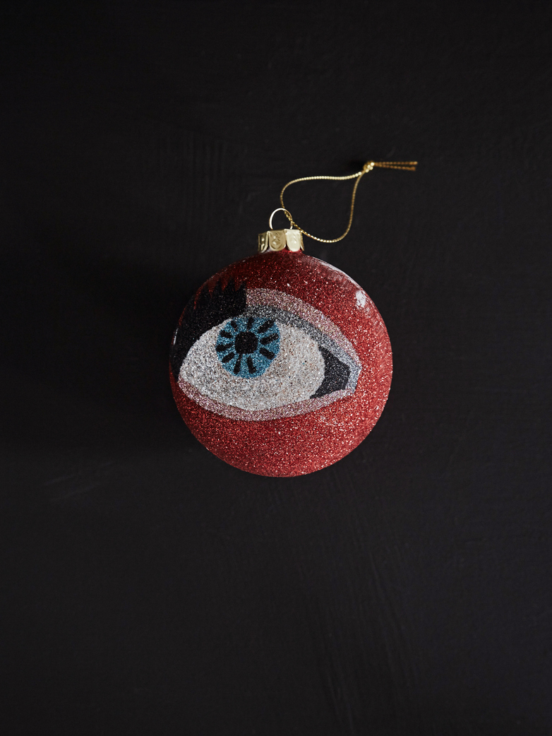 Glitter Eye Ornament