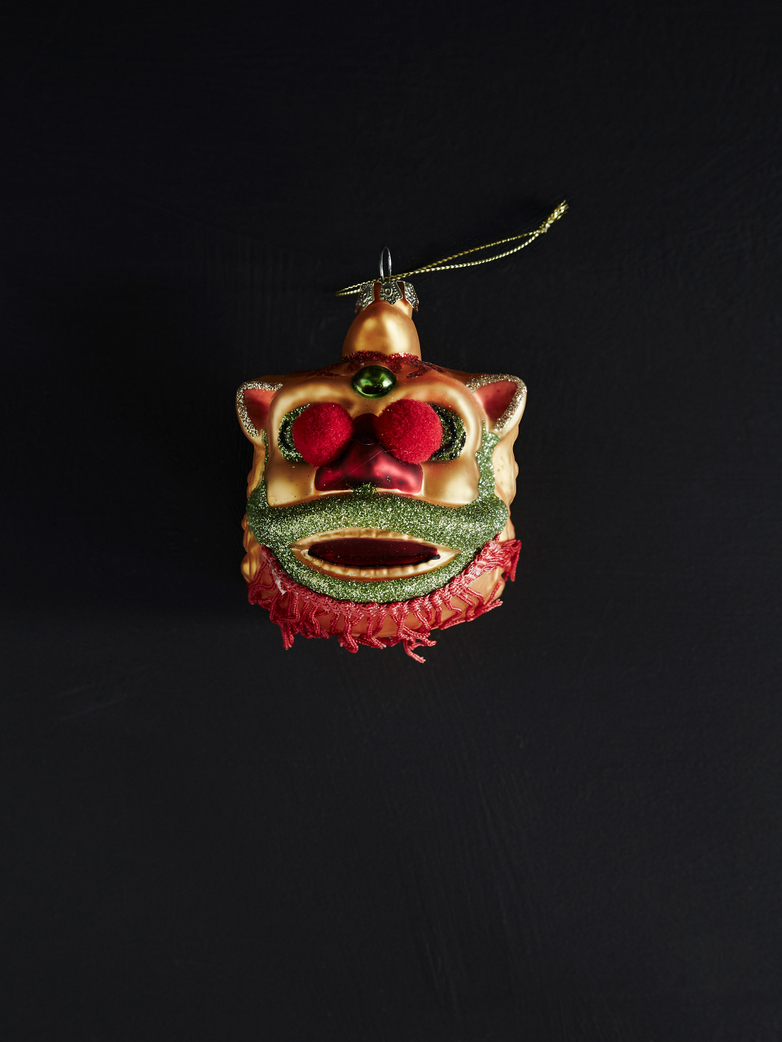 Parade Dragon Ornament – Gold