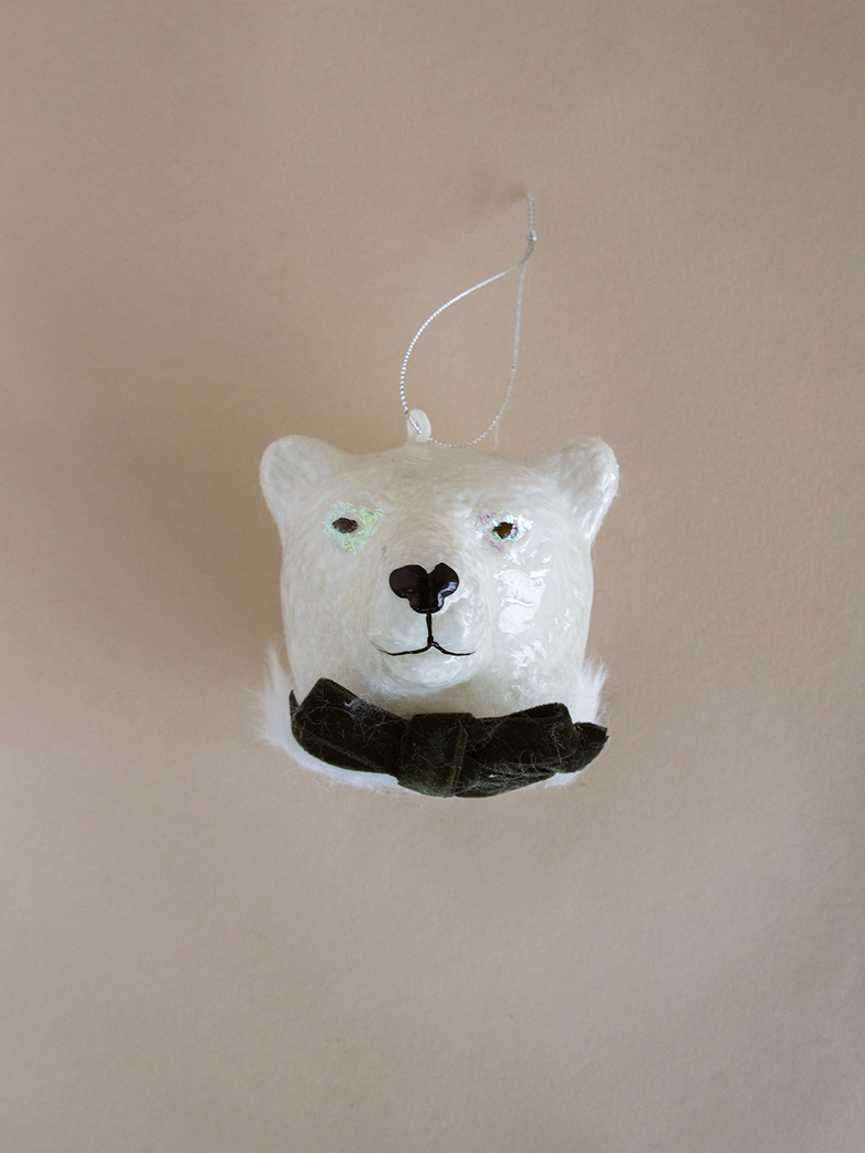 Polar Bear Gent Ornament