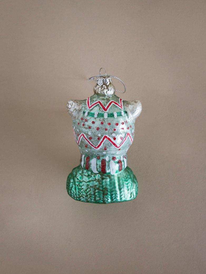 Winter Bear Ornament
