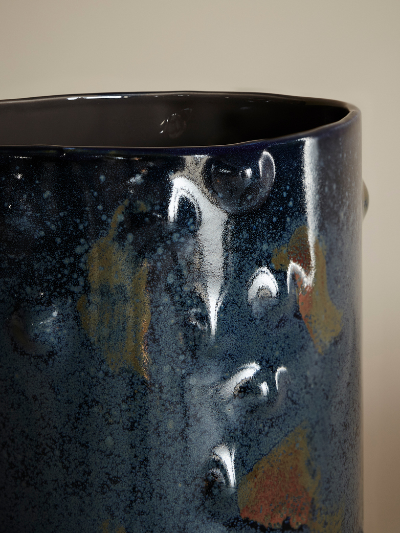 Midnight Blue Vase – Anita Le Grelle
