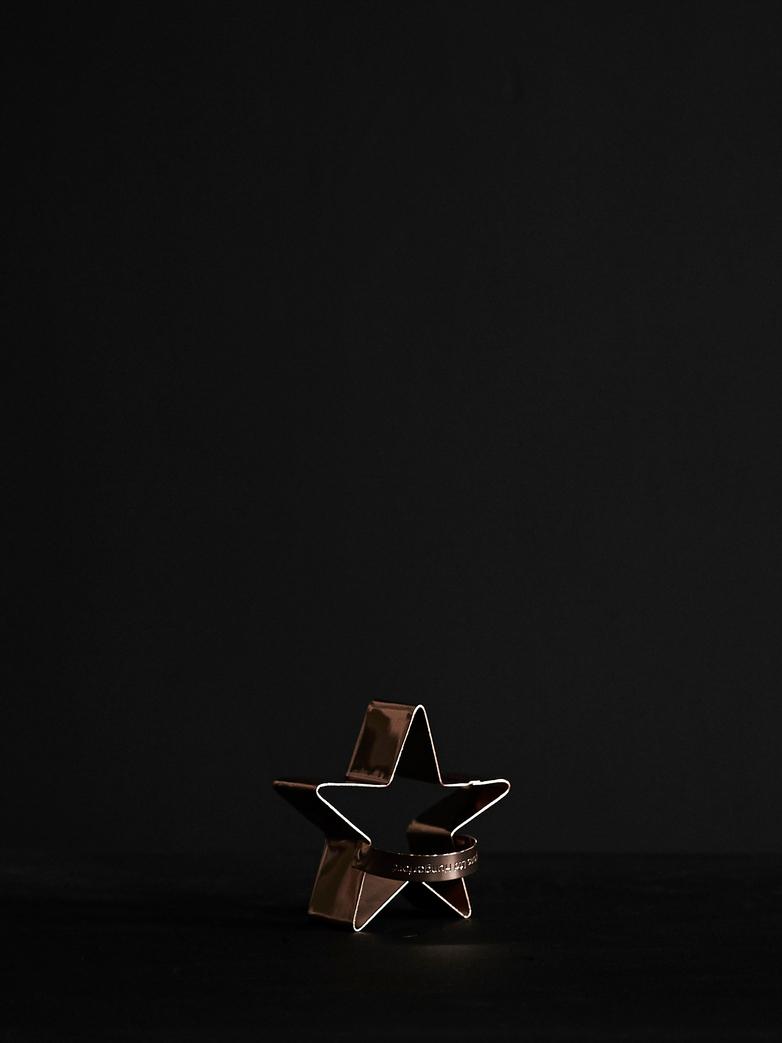 Vintage Star Biscuit Cutter Copper
