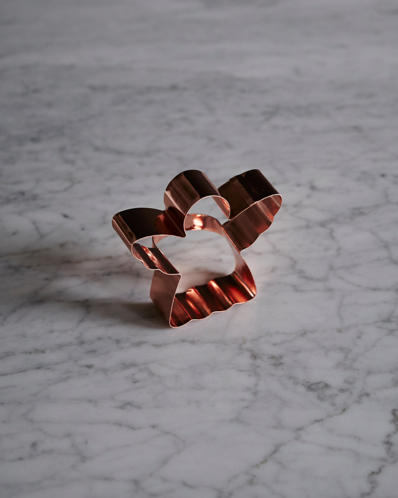 Copper Angel Biscuit Cutter