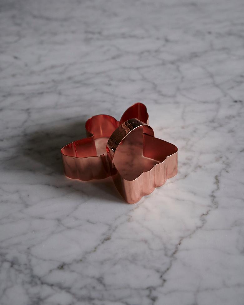 Copper Angel Biscuit Cutter