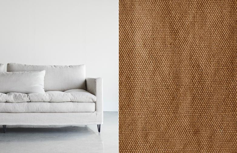 250 cm - Karpa - Tabac Brown