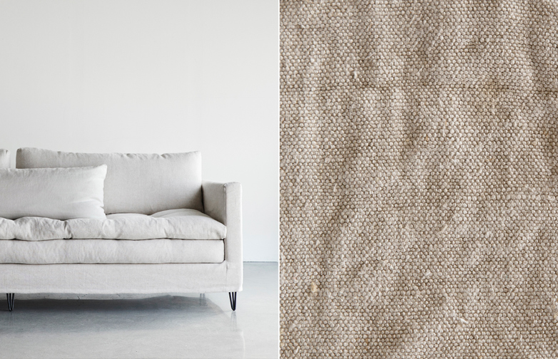 250 cm - Lin Souvage - Natural Beige