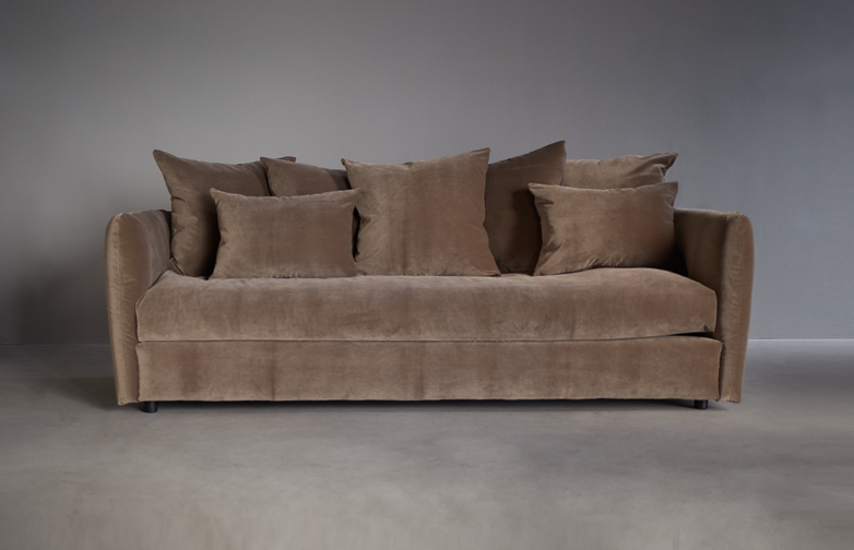 Loire Sofa Gala Moka 225cm