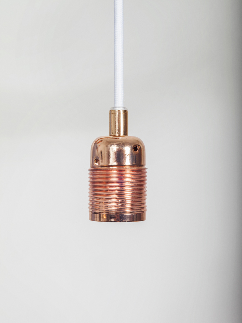 Pendant Copper - White