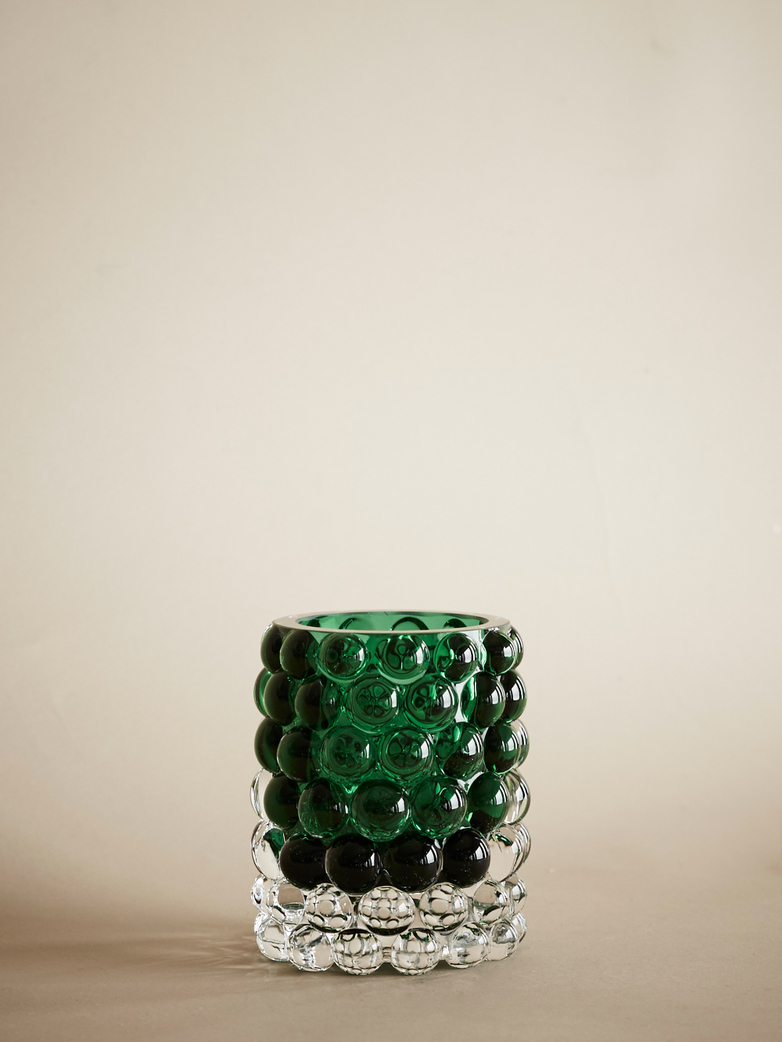 Hurricane Lamp Boule Green