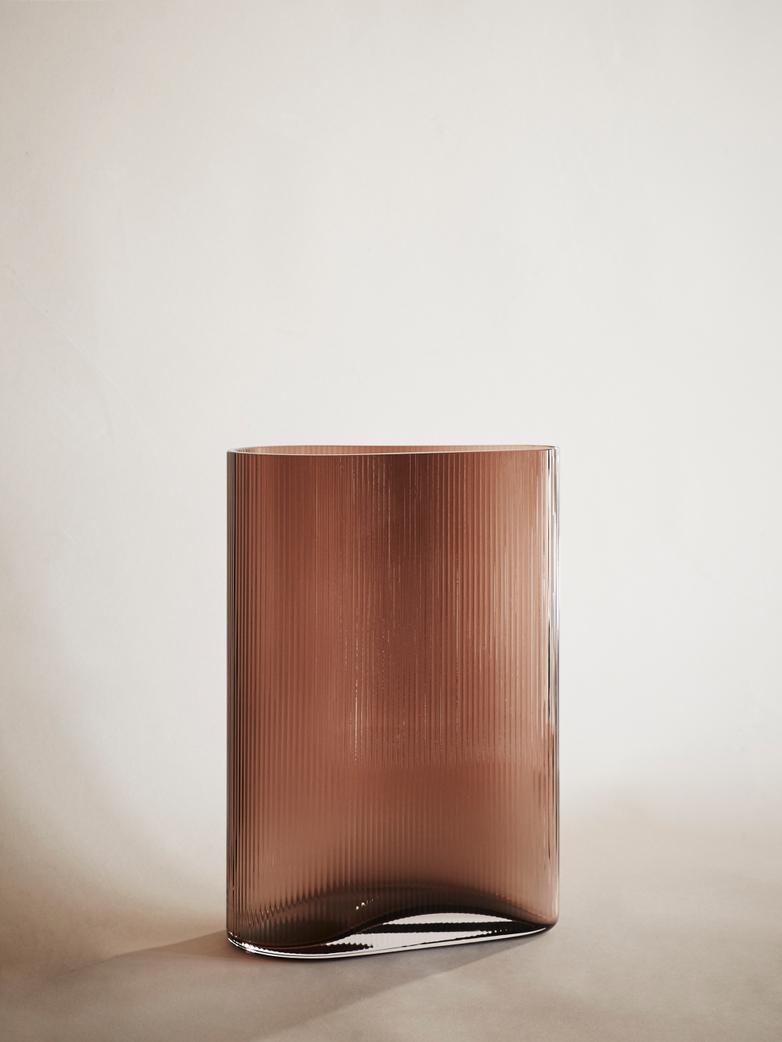 Mist Vase – Caramel – High
