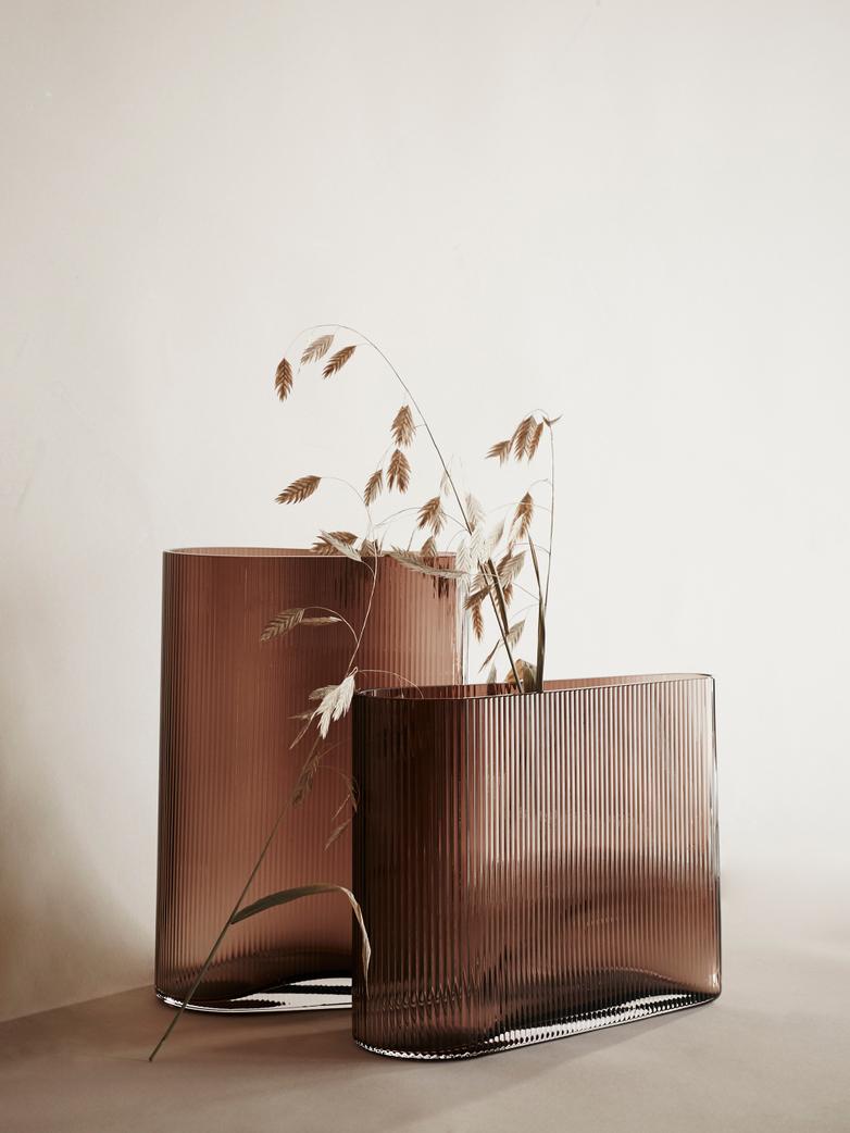 Mist Vase – Caramel – Wide