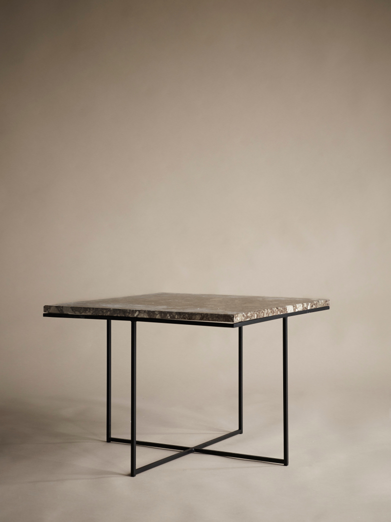 Aventino Table – 60 x 60 – Traviso Brown Marble