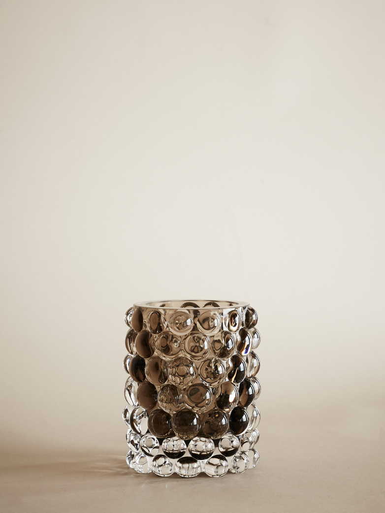 Hurricane Lamp Boule Smokey Grey