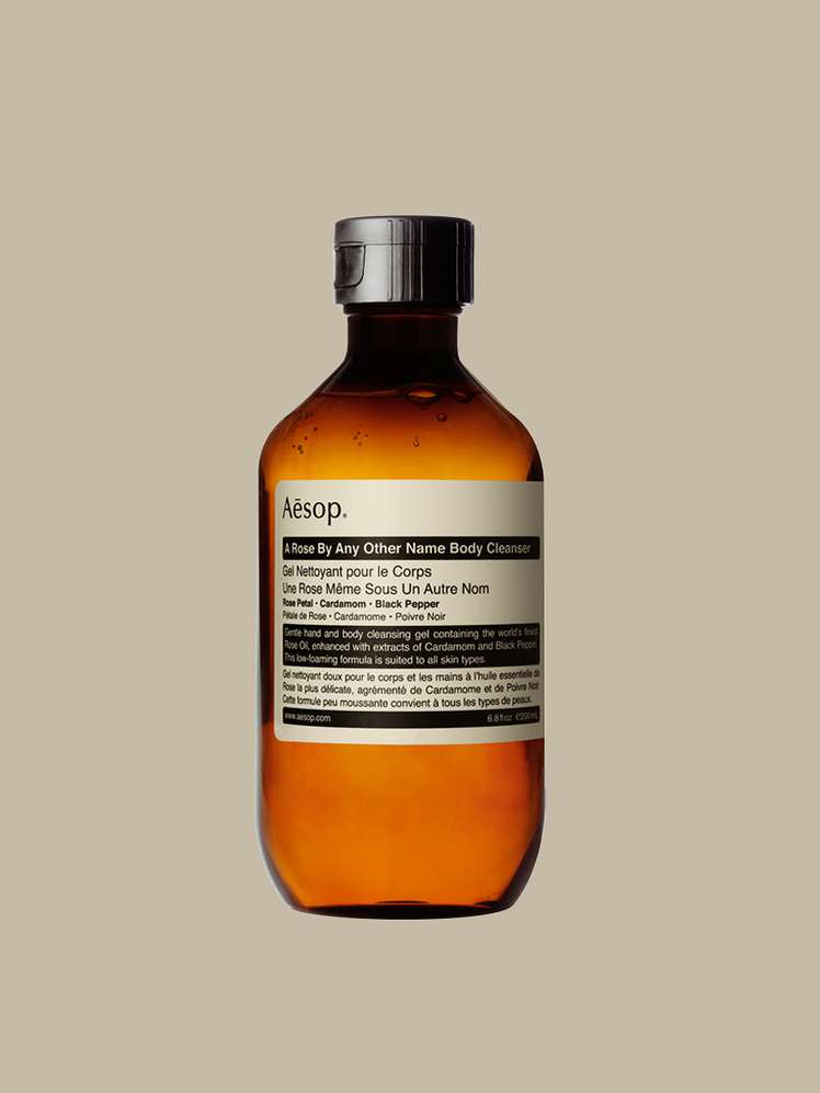 XIII. AESOP - Rengöring A ROSE BY ANY OTHER NAME BODY CLEANSER
