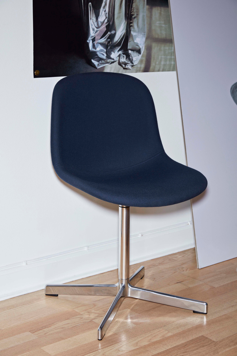 Neu 10 Upholstery - Polished Aluminium - Rime 741