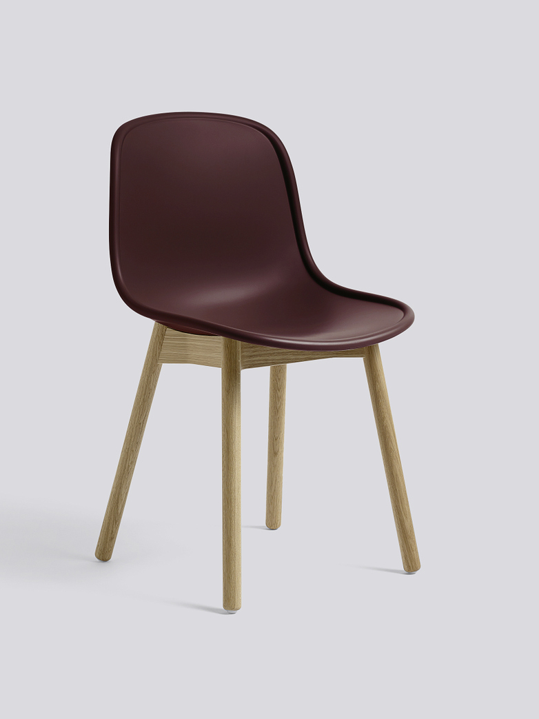 Neu 13 - Matt Lacquered Solid Oak - Bordeaux