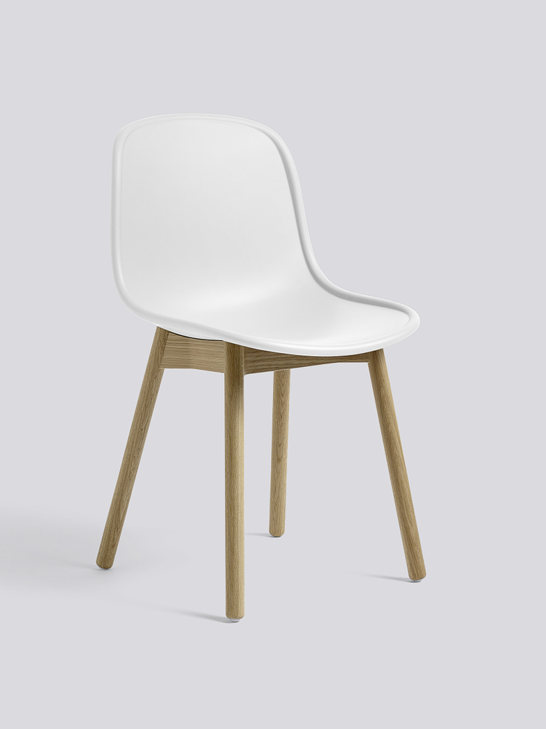 Neu 13 - Matt Lacquered Solid Oak - Cream White