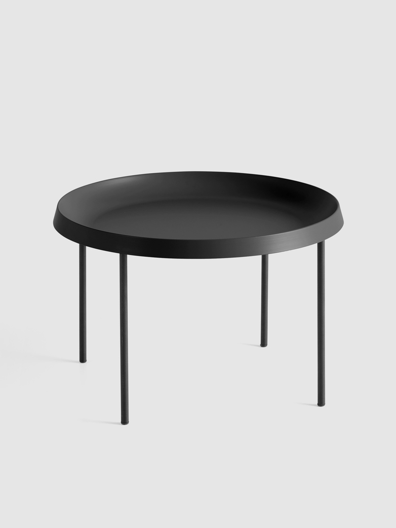 Tulou Coffee Table - Black Powder coated Steel - Black Powder coated Steel