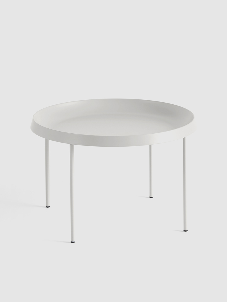 Tulou Coffee Table - Off-white Powder Coated steel - Off-white Powder Coated steel
