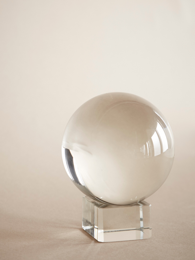 Crystal Sphere on Base