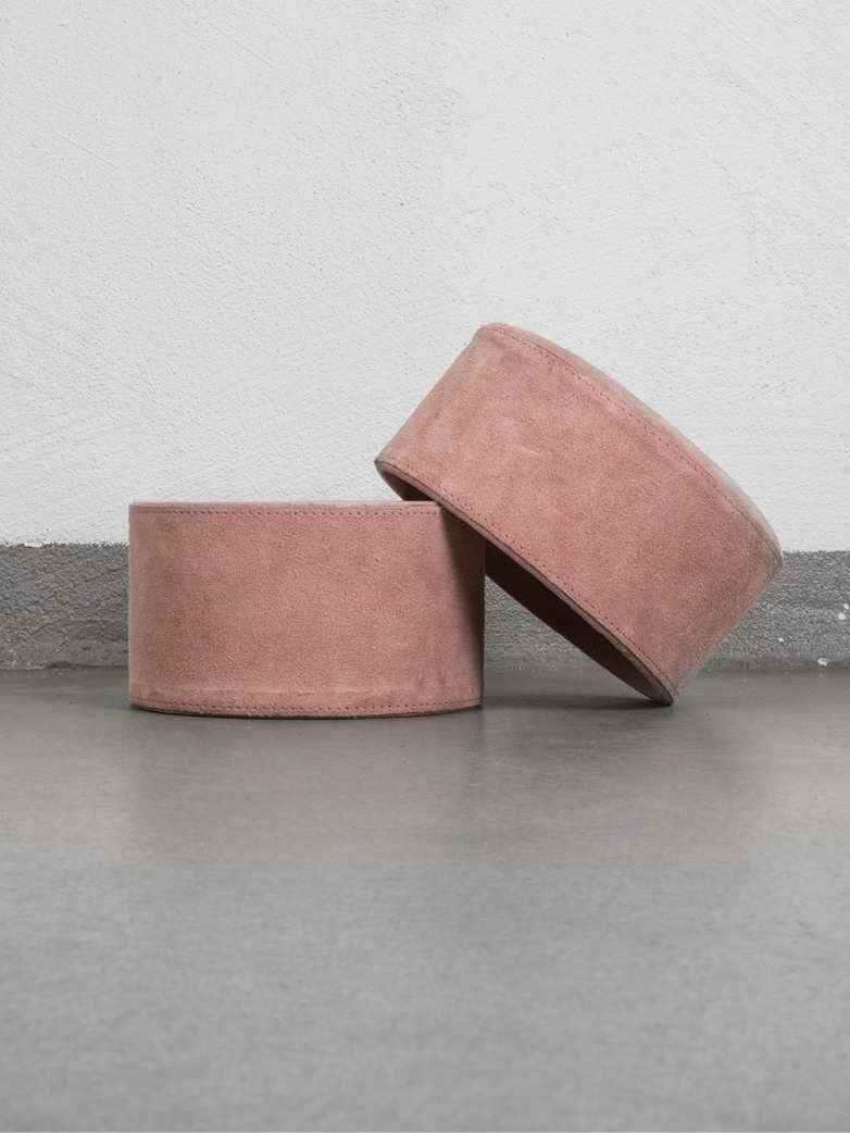Suede Box – Large – Pink