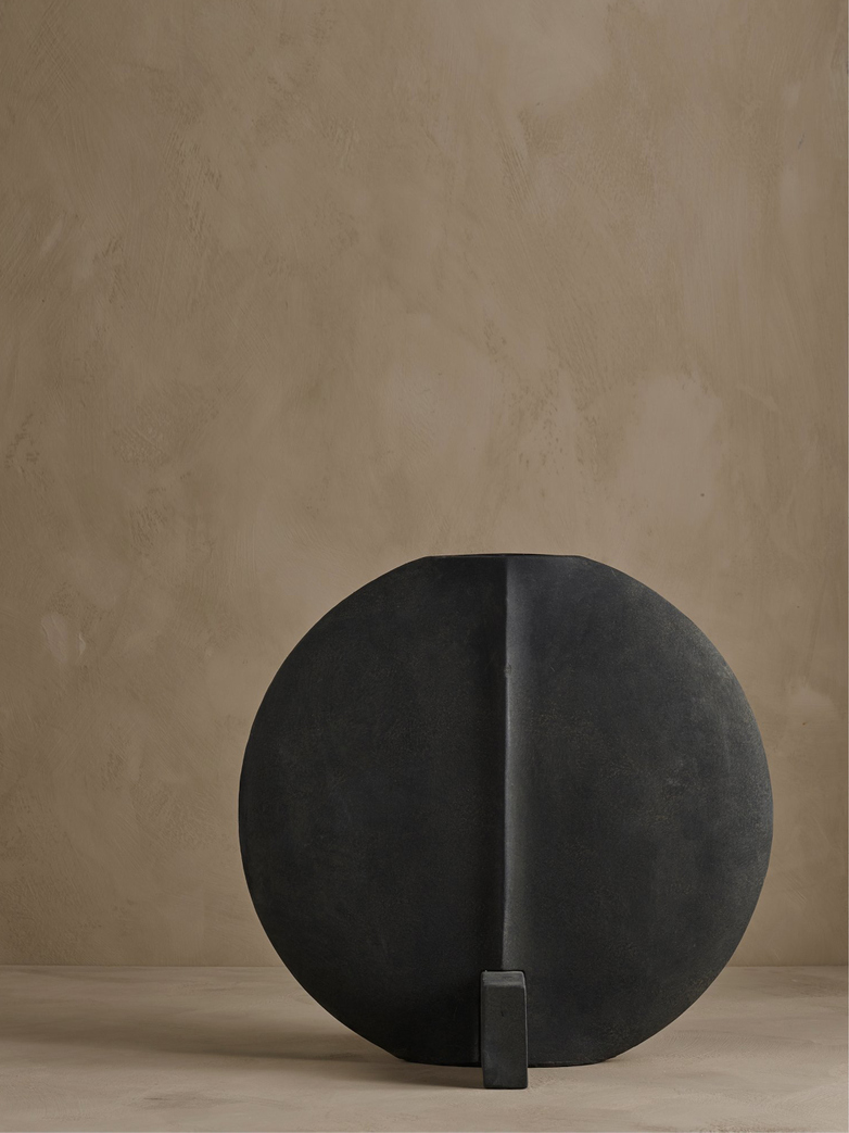 Guggenheim Vase – Dark Grey – Large
