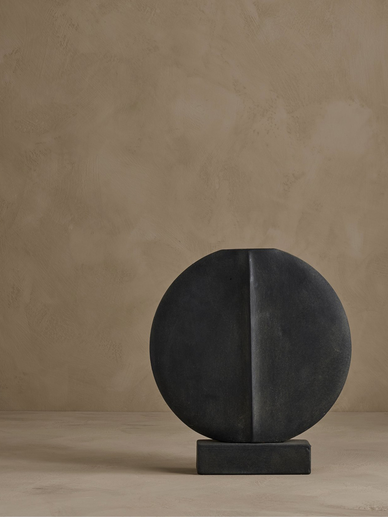 Guggenheim Vase – Dark Grey – Small