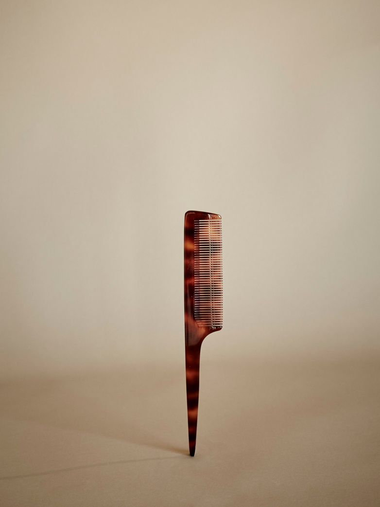 Brown Comb with Handle
